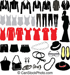 womens, ropa, misceláneo