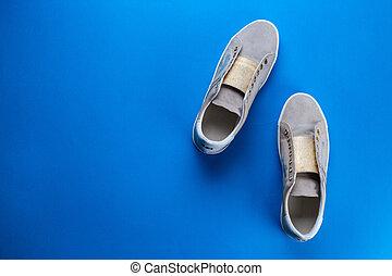 Women's shoes top view