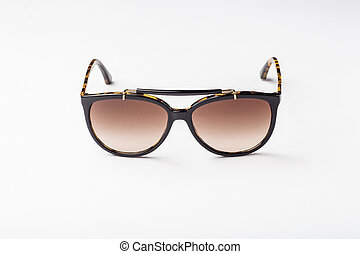 women's sunglasses isolated against a white background