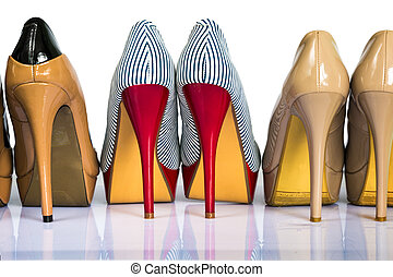 womens, talones, shoes