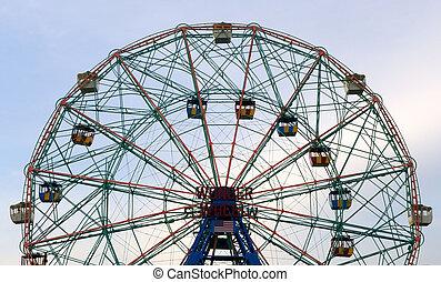 Wonder Wheel on Coney Island
