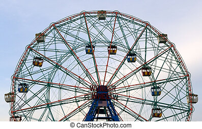 Wonder Wheel on Coney Island