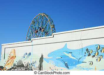 Wonder whell, Coney Island - The wonder whell in Coney...