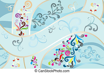 Wonderful abstract background