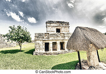 Wonderful Ancient Mayan Ruins of Tulum, Mexico