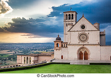 Wonderful architecture in Assisi, Umbria, Italy