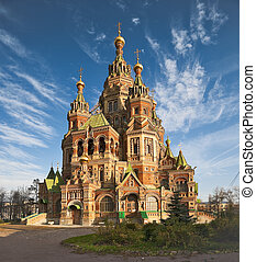 Wonderful cathedral in Russia