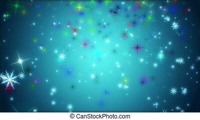 Wonderful christmas animation, loop - Wonderful christmas...