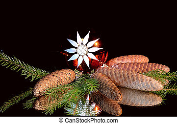 Wonderful christmas still life.