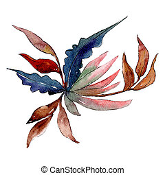 Wonderful flower. Isolated flower illustration element. Background set. Watercolour drawing aquarelle bouquet.