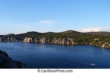 Wonderful landscape Croatian