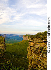 Wonderful Landscape in Brazil - Chapada Diamantina .