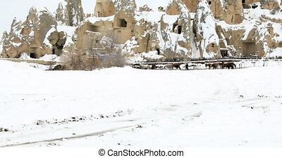 Wonderful landscape of Cappadocia in Turkey - Beautiful...