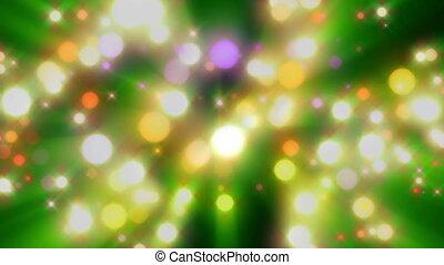 Wonderful light video, loop HD