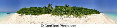 Wonderful maldivian beach