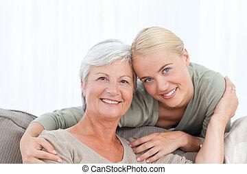 Wonderful nurse and her mature pati