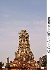 Wonderful Pagoda Ayutthaya, Thailand - Wonderful Pagoda Wat...