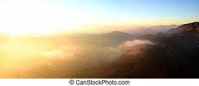 Sunrise in Egypte - Mt Sinai