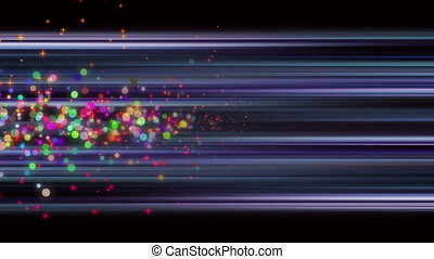 Wonderful video animation, loop