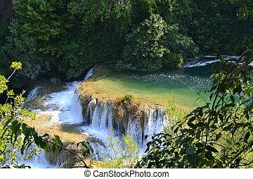 Waterfalls of Krka