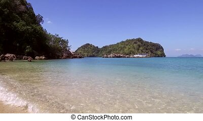 wonderfull, plage, koh, lagune, chargement, île, lao