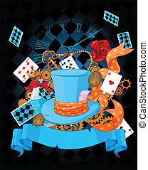 Wonderland design - Illustration of wonderland design...