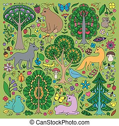 Wonderland Fun Forest