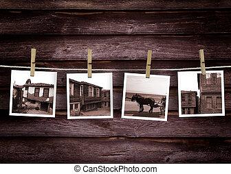 woning, concept, turkse , historisch, foto