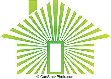 woning, energie, groene