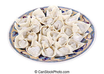 wonton dumpling, traditional Chinese food - Traditional...