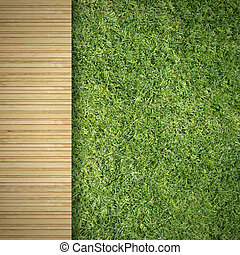 Wood and Grass