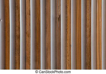 Wood and Metal Slats