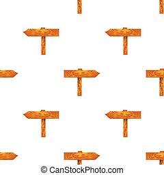Wood Arrows Seamless Pattern
