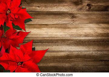 Wood background for Christmas