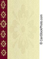 wood background - illustration of wood oak background with ...
