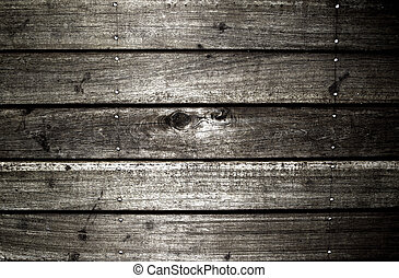 wood background - texture of black wood ,used as background