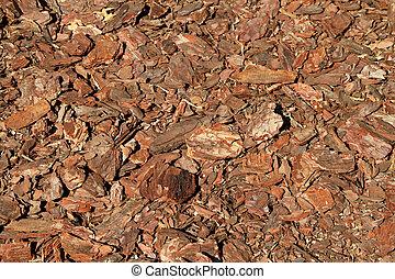 Wood bark chips