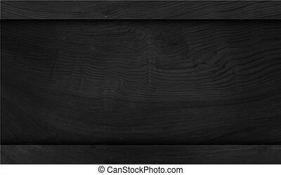 Wood black background