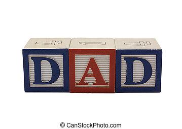 Wood Blocks Dad