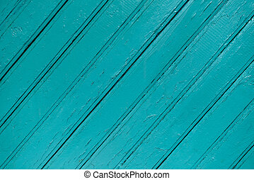 Wood blue painted background with diagonal lines