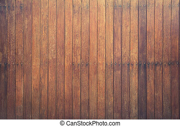 wood board background, wooden planks, vintage wall