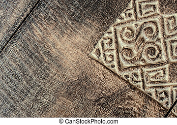 wood carving texture background