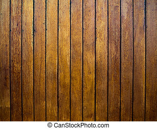Wood ceiling from a store