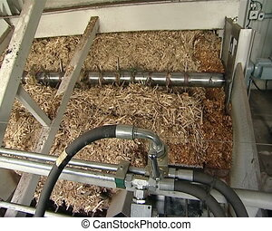 wood chip for heating