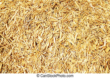 Wood chips for a biomass combustion