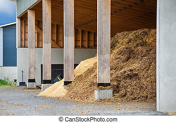Wood chips for bio fuel