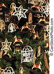 Wood christmas decorations