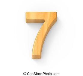 wood color number 7
