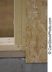 wood construction detail