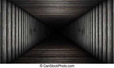Wood Corridoor Loop
